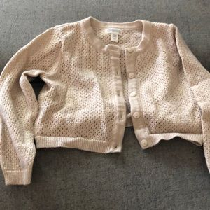 Gold glitter sweater